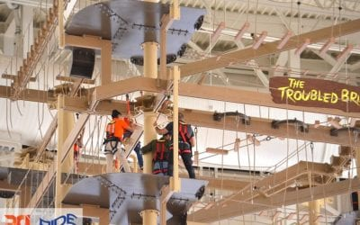 World's Tallest Adventure Course Opens at American Dream