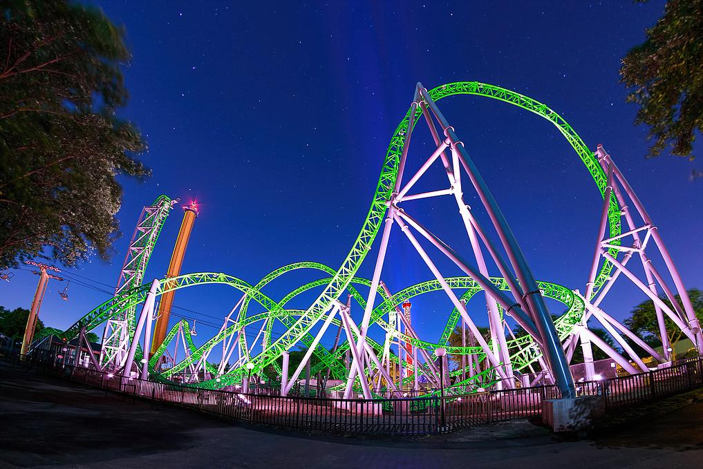 Monster roller coaster by Gerstlauer