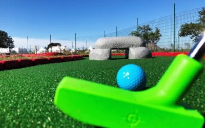 Adventures at Governor's Island Opens Mini Golf