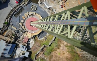 Dollywood Opens Drop Line
