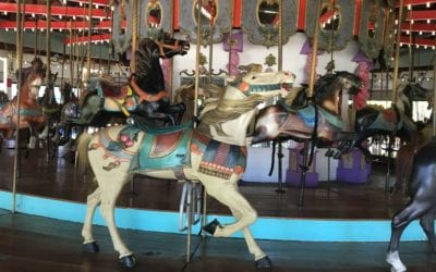 CNN: Take a whirl on New York City's carousels