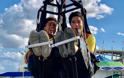 New Sky Sled harness takes riders to great heights at Fun Spot America