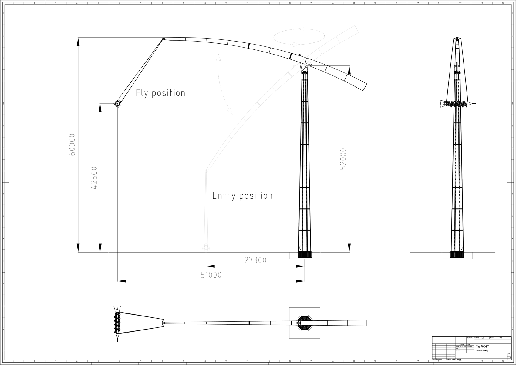 funtime rocket drawing